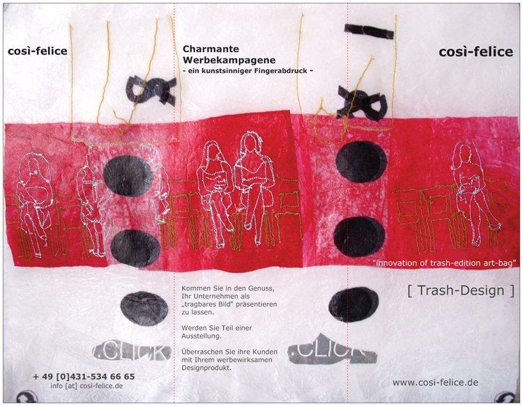 Werbecampagne Cosi Felice - Cornelia Maria Schuckart